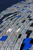 De pennen van de zeekreeftopslag stock foto's