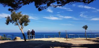 De pensionering in Tanger royalty-vrije stock afbeelding