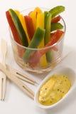 De peper plakt salade. Stock Foto