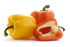 De peper van de paprika Stock Afbeeldingen