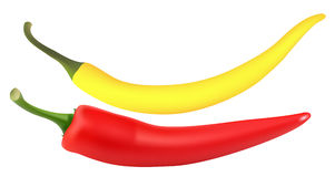 De peper van de Spaanse peper Stock Illustratie