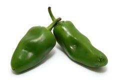 De peper van Jalapeño Stock Foto's