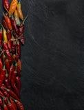 De peper van Peperoncinospaanse pepers Stock Afbeeldingen