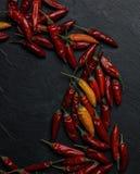 De peper van Peperoncinospaanse pepers Royalty-vrije Stock Afbeeldingen