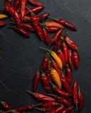 De peper van Peperoncinospaanse pepers Stock Afbeelding