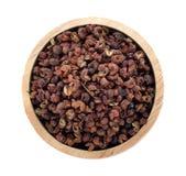 De peper van Sichuan stock foto's