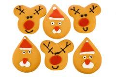 De peperkoek van Kerstmis Stock Foto's