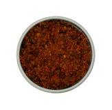 De peperkruiden van Spaanse pepers Stock Foto