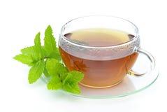 De Pepermunt van de thee stock foto's