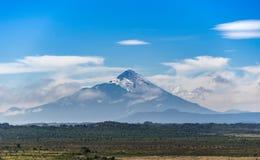 De perfecte kegel van de Osorno-vulkaan royalty-vrije stock afbeelding