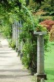De pergola van de tuin Royalty-vrije Stock Fotografie