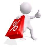 De periode van de verkoop Stock Foto's
