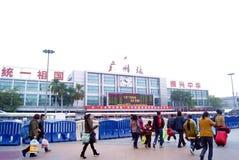 De periode van het het festivalvervoer van de lente van guangzhou Royalty-vrije Stock Foto's