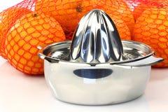 De pers van de citrusvrucht Royalty-vrije Stock Foto