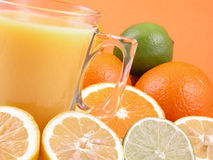 De pers van de citrusvrucht Stock Fotografie