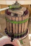 De pers van de wijn Royalty-vrije Stock Foto