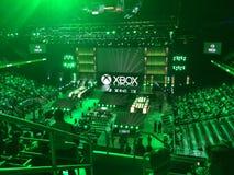 De persconferentie van Microsoft xbox e3 2014 Royalty-vrije Stock Afbeeldingen