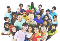 De personnes de la jeunesse de culture concept gai d'étudiants ensemble photo libre de droits
