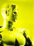 De persoon van de robot Stock Afbeelding