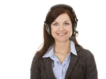 De persoon van het telemarketing Royalty-vrije Stock Foto