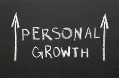 De persoonlijke groei Stock Foto