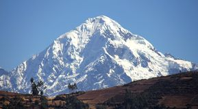De Peruviaanse Andes royalty-vrije stock foto