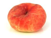 De Perzik van de doughnut Royalty-vrije Stock Afbeeldingen
