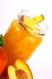 De perzik van de jam Stock Afbeeldingen