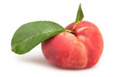 De perziken gaat vlak weg Stock Afbeeldingen