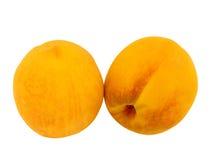 De perziken van het fruit Stock Afbeelding