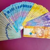 De Peso en de Amerikaanse dollars van Filippijnen Stock Fotografie