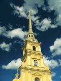 De Peter en van Paul vesting, St. Petersburg, Rusland Stock Foto