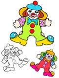De petit clown étrange Doll Photos stock