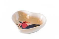 De petites tasses en forme de coeur Photo libre de droits