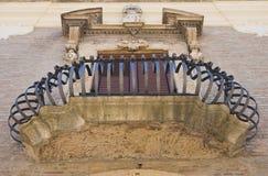 De Petris Palace San Severo Puglia Italien Stockfotografie