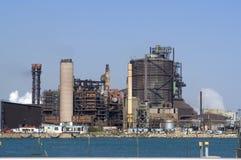 De petrochemische industrie royalty-vrije stock fotografie