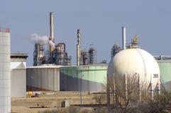 De petrochemische industrie royalty-vrije stock afbeeldingen