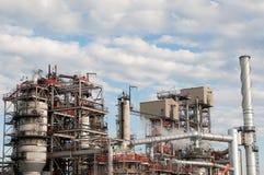 De petrochemische Installatie van de Raffinaderij Stock Foto
