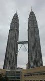 De Petronas tvillingbröderna Royaltyfri Fotografi