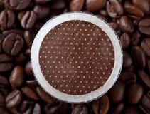 De peulen van de koffie Royalty-vrije Stock Afbeeldingen