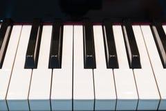 De piano sluit 1 Stock Afbeeldingen