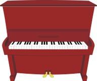 De piano van het beeldverhaal Stock Afbeeldingen