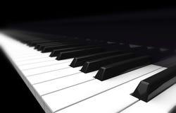 De piano van het perspectief Stock Fotografie