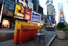 De Piano van het Times Square Royalty-vrije Stock Afbeelding