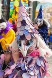 De piccolofluitspeler van Bazel Carnaval 2019 royalty-vrije stock afbeelding