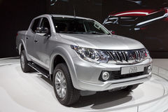 2015 de pick-up van Mitsubishi L200 Royalty-vrije Stock Fotografie