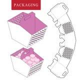 De picknickconcept van het pakketmalplaatje stock illustratie