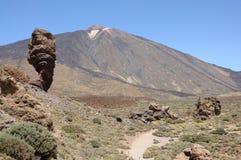de Pico teide Tenerife wulkan Obraz Royalty Free