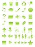 De pictogrammen van Comp royalty-vrije illustratie