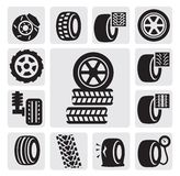 De pictogrammen van de band Royalty-vrije Stock Afbeeldingen
